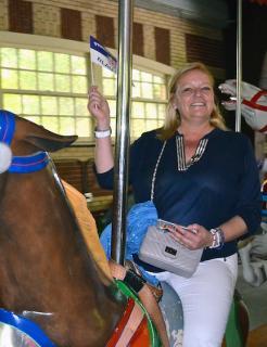 Gisela Piltz ist neue Jagdherrin der Prinzengarde Blau-Weiss