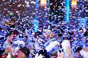 Feiern mit Blau-Weiss!!!