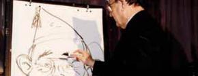 In Gedenken an Hans-Dietrich Genscher †, unseren Pritschenträger 1990