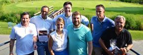 Blau-Weiss-Golfturnier mit Hitzerekord