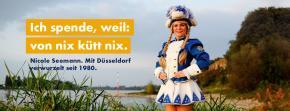 Unser Tanzmariechen Nicole setzt sich für die Bäume in Düsseldorf ein!