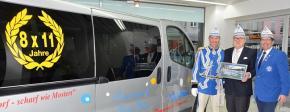 Opel Ulmen: Seit 33 Jahren Blau-Weiss-Sponsor