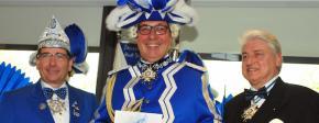 Prinzengarde Blau-Weiss im Aufwärtstrend / Jörg Schnorrenberger ist der neue General à la Suite