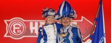 Jung und Alt im Karneval vereint