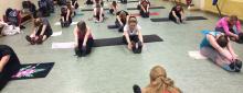 Das Training für die Tanzgarde hat wieder begonnen