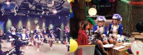 Die Tanzgarde zu Gast bei NIX-TV